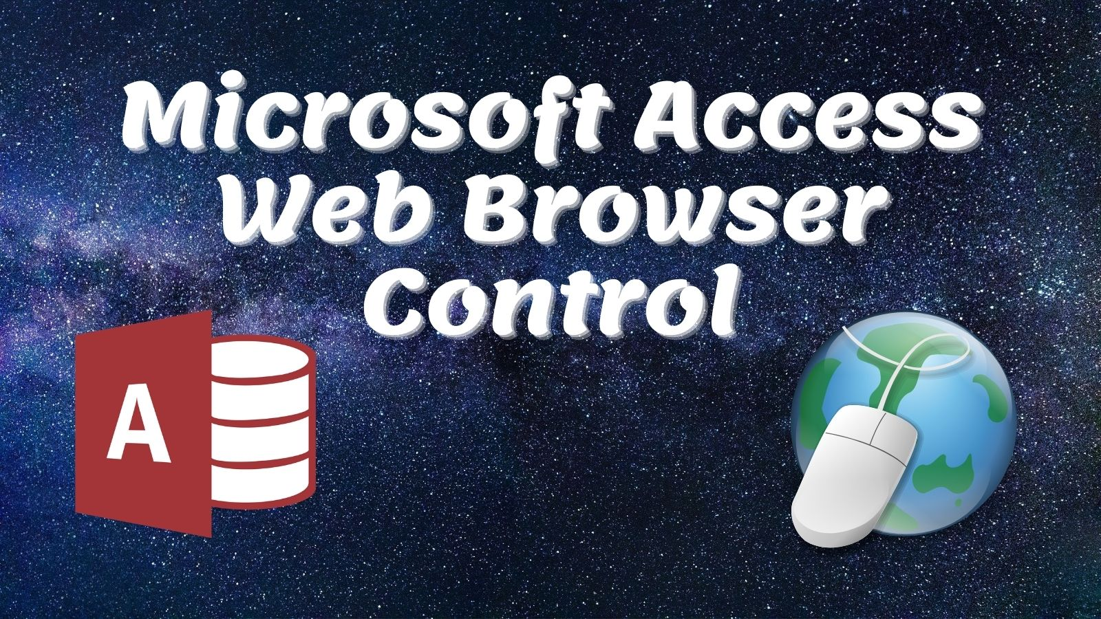 Access Web Browser Control